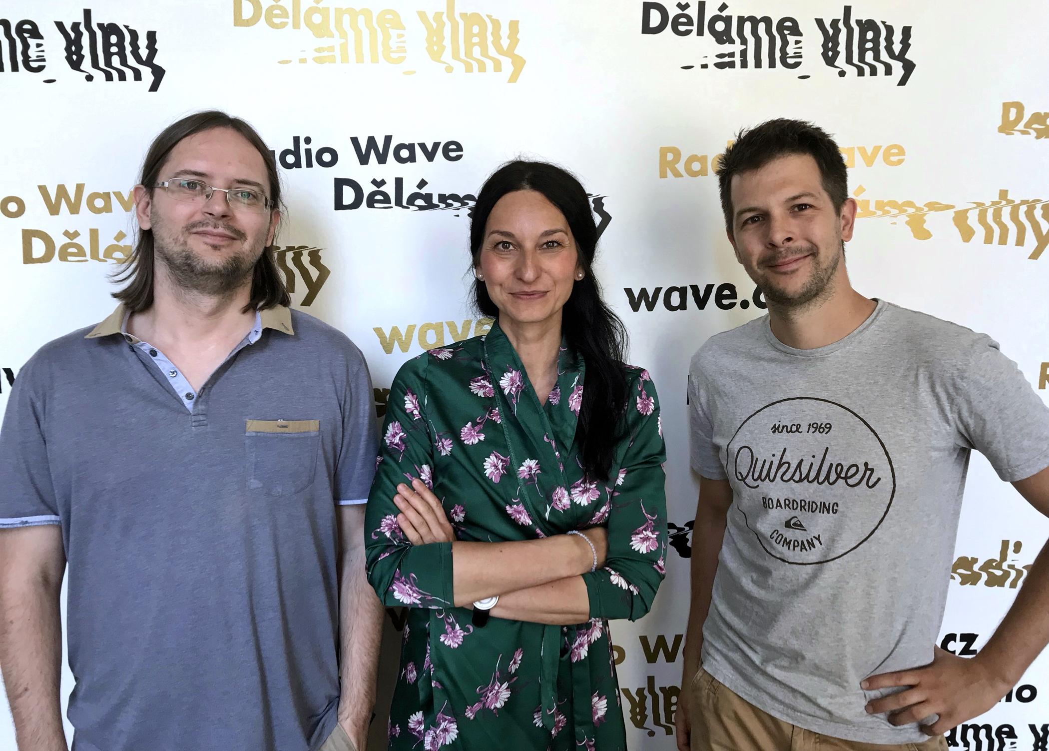 Adam Javůrek, Iva Jonášová a Dan Tržil