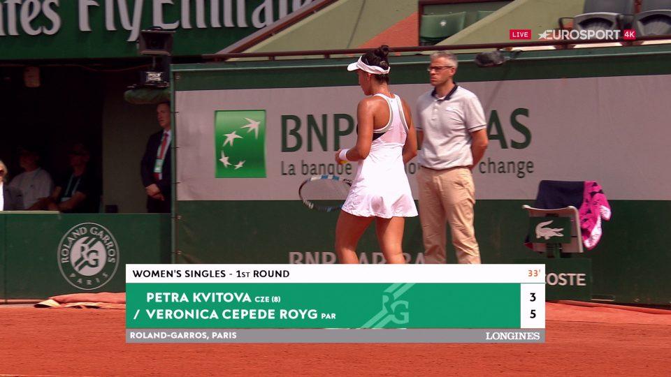 Roland Garros na kanálu Eurosport 4K
