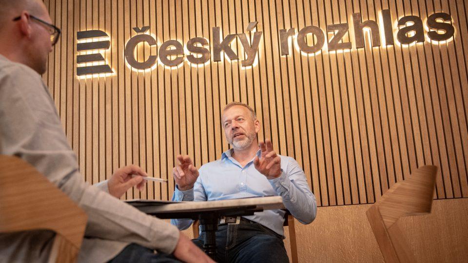 Technický ředitel České televize Michal Kratochvíl