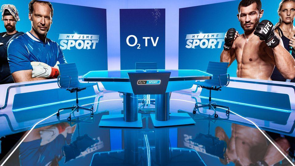 Nové studio placené televize O2 TV Sport