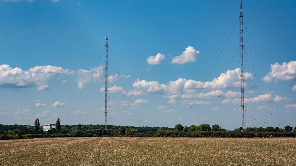 Dlouhovlnný vysílač Topolná