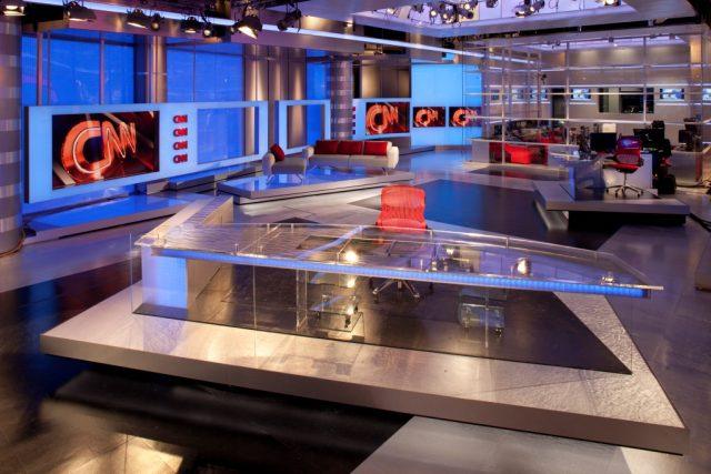 Nové studio CNN v americké Atlantě