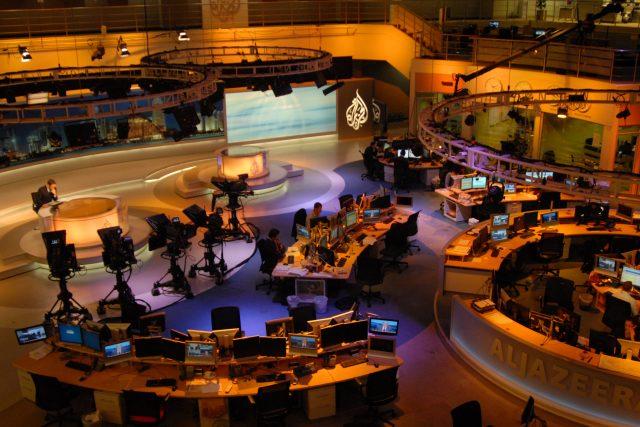 Newsroom anglojazyčné stanice Al Jazeera International