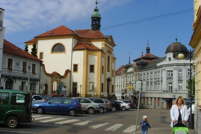 Benešov - náměstí