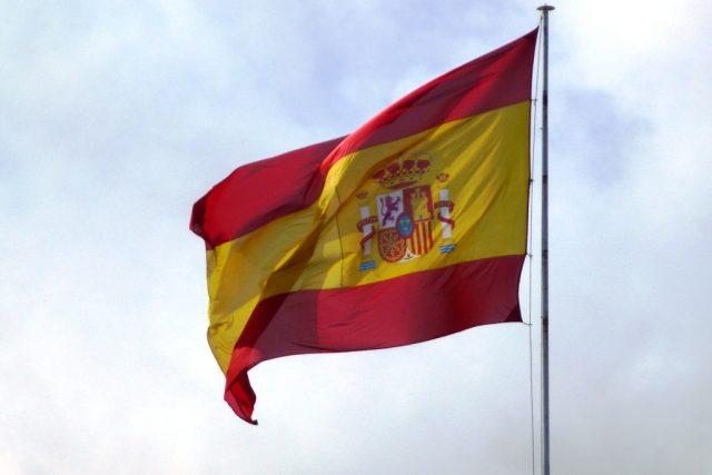 Španělsko, španělská vlajka (ilustrační foto)