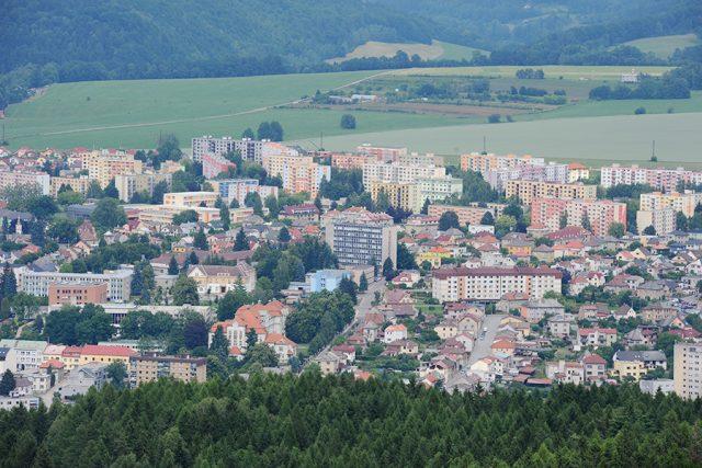 Rozhledna Andrlův Chlum nabízí krásný výhled na Ústí nad Orlicí