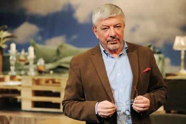 Vladimír Železný po necelých pěti měsících skončil ve vedení TV Barrandov (foto z 18. 2. 2014)