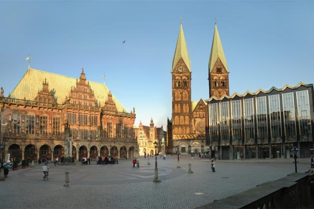 Německé město Brémy