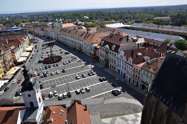 Výhled na Velké náměstí