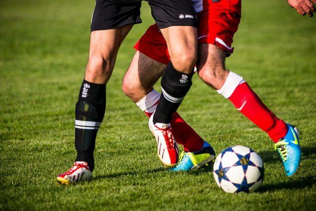 Fotbal (ilustrační snímek)