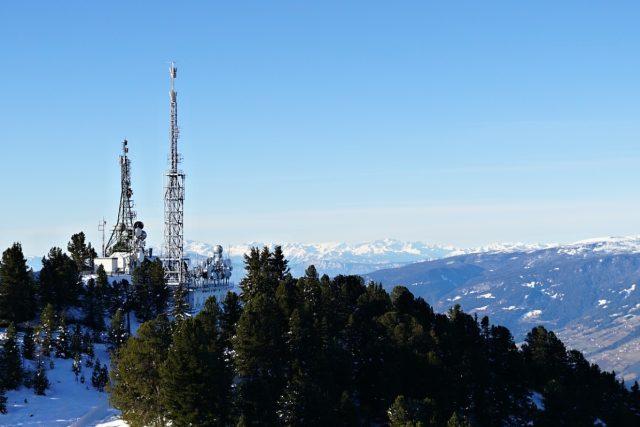 Vysílač, Jižní Tyrolsko