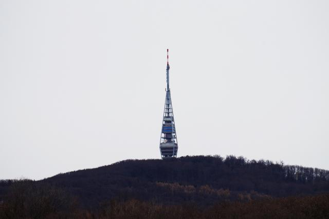 Vysílač, Bratislava, Slovensko (ilustrační foto)