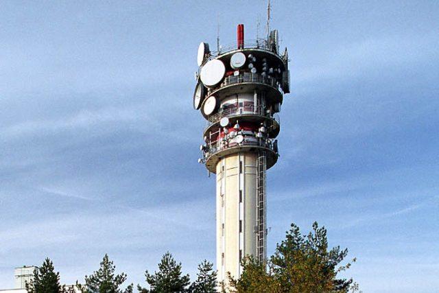 Pražský vysílač Strahov