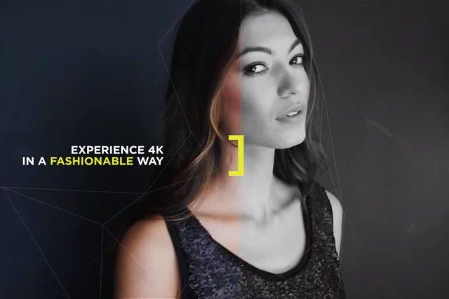 Ukázka z vysílání stanice Fashion One 4K