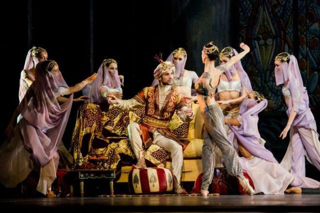 Balet Le Corsaire (Korzár) na kanálu Arte