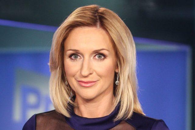 Moderátorka Terezie Kašparovská ve studiu FTV Prima