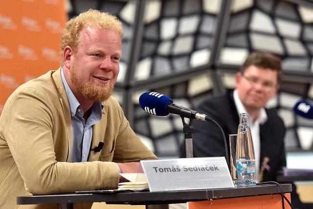 Debata ČRo Plus: Být,  či nebýt v Evropské Unii? Tomáš Sedláček | foto: Filip Jandourek