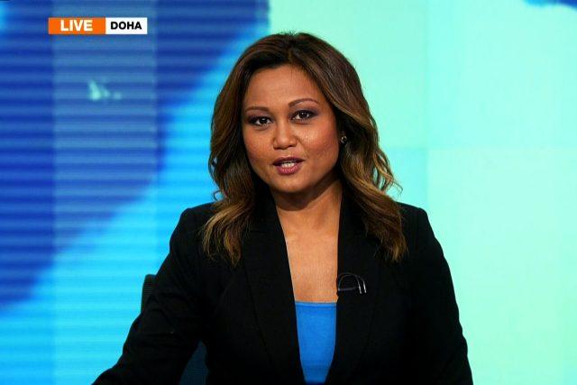Ukázka z vysílání anglicko-jazyčné verze stanice Al Jazeera