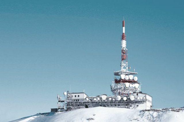 Rakouský vysílač Innsbruck - Patscherkofel