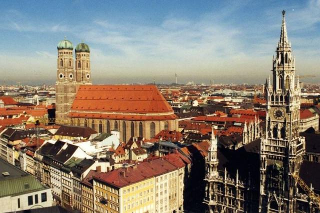 Mnichov - panorama města