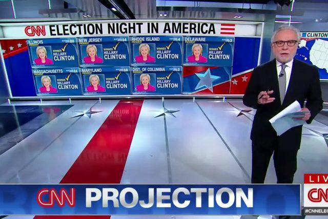 Volební studio CNN