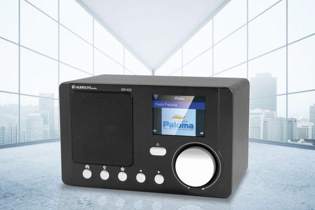 Digitální rozhlasový přijímač Albrecht DR 422