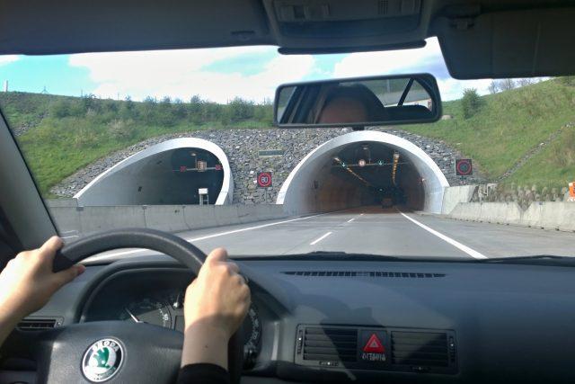Dálniční tunel u Klimkovic