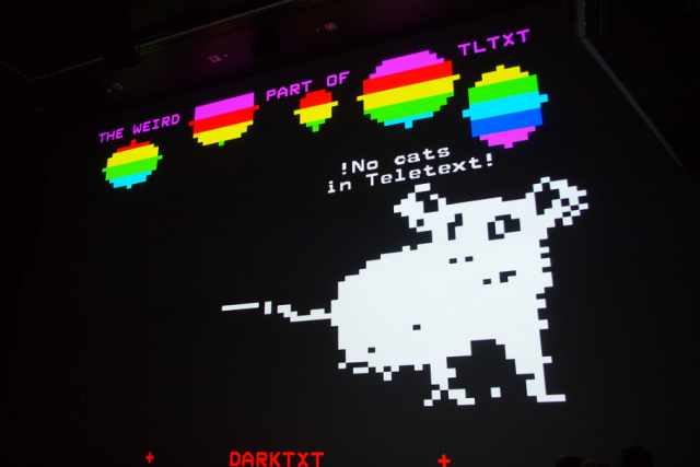 Deep Space 8K: The International Teletext Art Festival – ITAF 2015