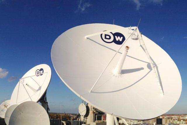 Satelitní paraboly Deutsche Welle