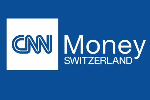 Logo stanice CNN Money Switzerland