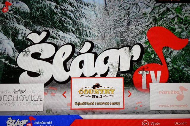 Hybridní vysílání Šlágr TV