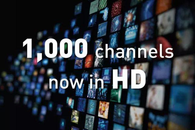 Operátor Eutelsat šíří tisícovku kanálů v HD rozlišení