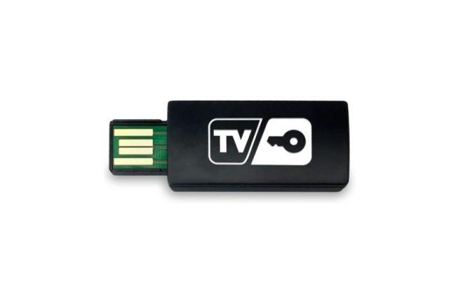 Nové hardwarové řešení dekódování programů označované jako TVkey.