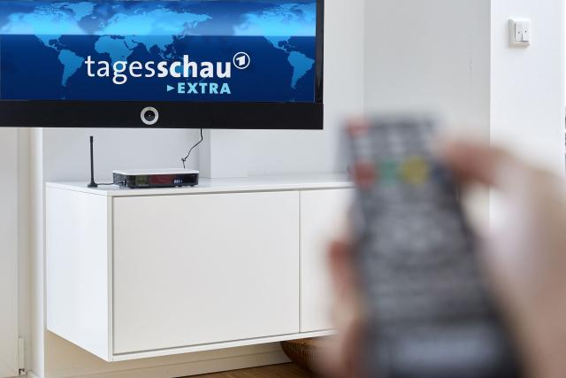 Příjem DVB-T z Německa (ilustrační foto)