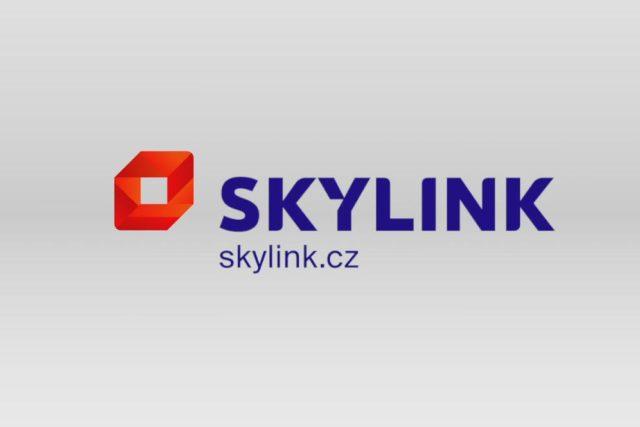 Nové logo satelitní služby Skylink