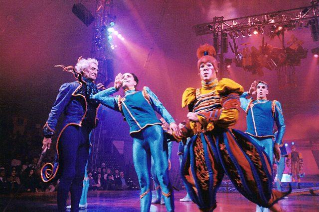 Cirque du Soleil v roce 1993 s Nouvelle Expérience