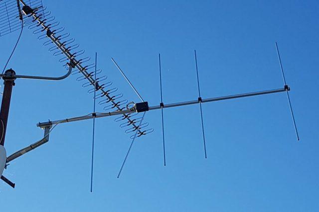 Televizní anténa,  rozhlasová anténa | foto: Lukáš Polák