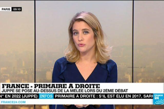 Z vysílání zpravodajská televize France 24