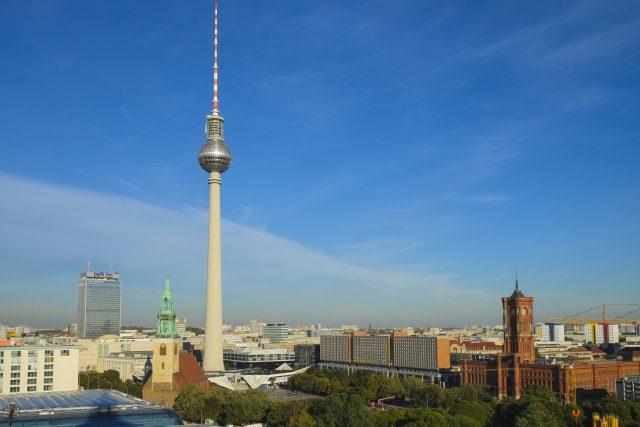 Vysílací věž Alexanderplatz