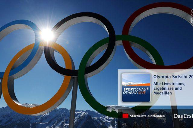 ARD a ZDF opět nabídnou široké pokrytí olympijských her