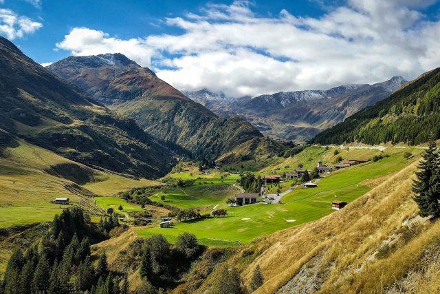 švýcarské alpy, Švýcarsko