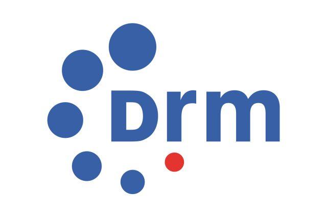 Logo digitálního rádia DRM
