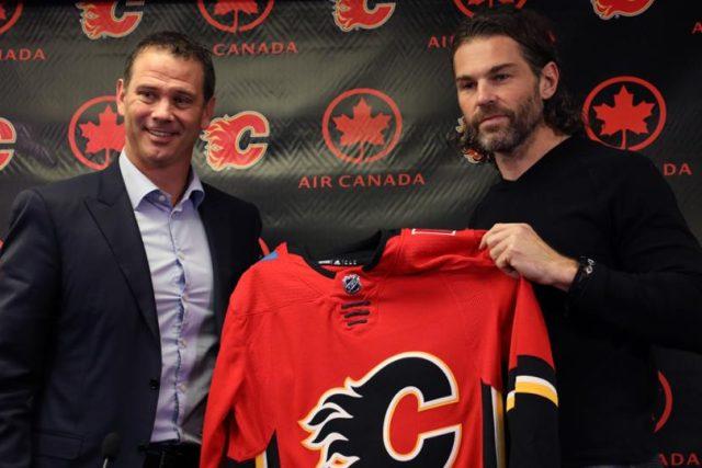 Jaromír Jágr podepsal smlouvu s Calgary