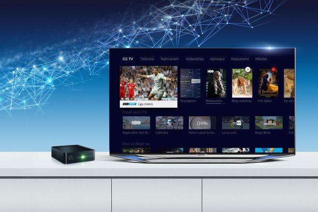 Moje menu v prostředí O2TV