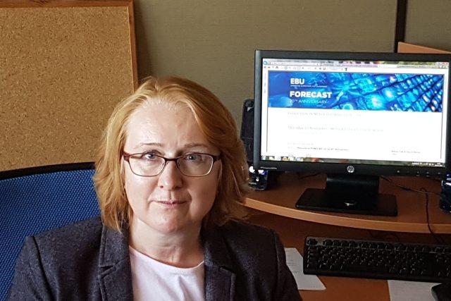 Ivana Holíčková, šéfka distribuce signálu Rozhlasu a televize Slovenska