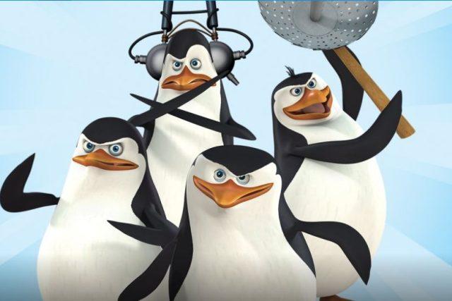 Ze seriálu Tučňáci z Madagarskaru