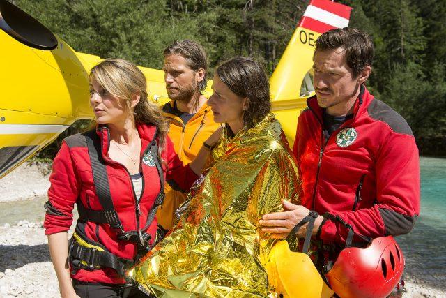 Ze seriálu Die Bergretter (Horští záchranáři)