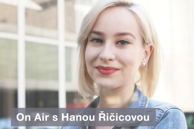 DAB+ vizuál - On Air s Hanou Řičicovou