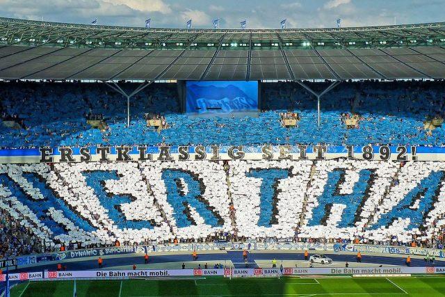 Hertha Berlin je nejstarším fotbalovým klubem bundesligy, byla založena už v roce 1892