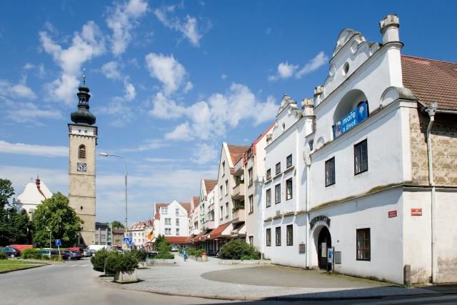 Náměstí Republiky v Soběslavi